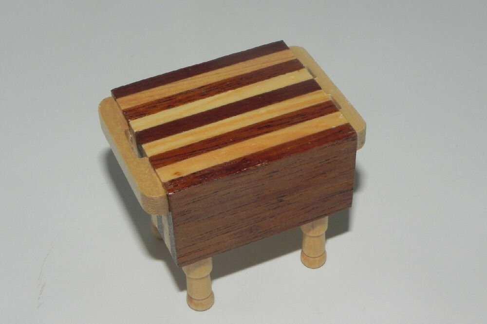 Wooden Butcher Block Table Kitchen Furniture Butcher Shop Diorama eBay