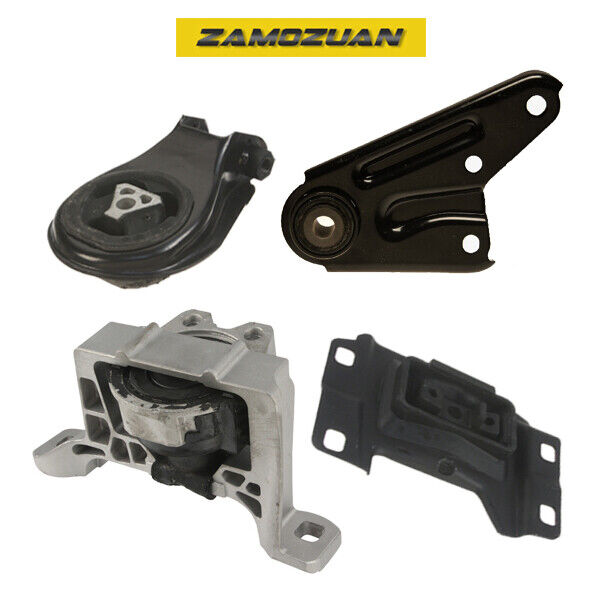 2004 2009 mazda 3 2 3l engine motor trans mount set 4pcs for Ebay motors shipping company