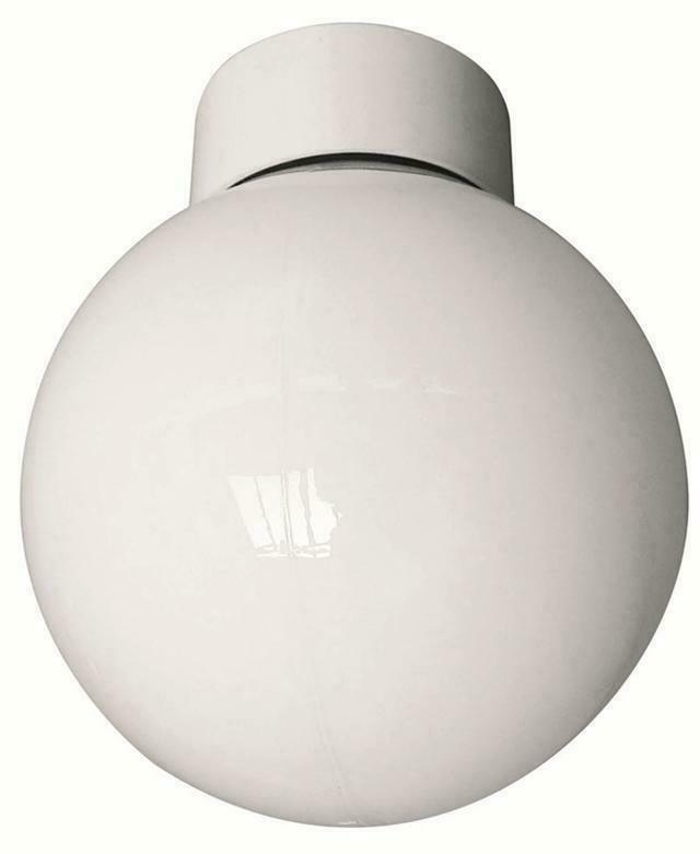 Round Globe Wall Lights : Energy Saving 11W-20W Bathroom Wall Ceiling Round Globe Light Fitting White IP20 eBay