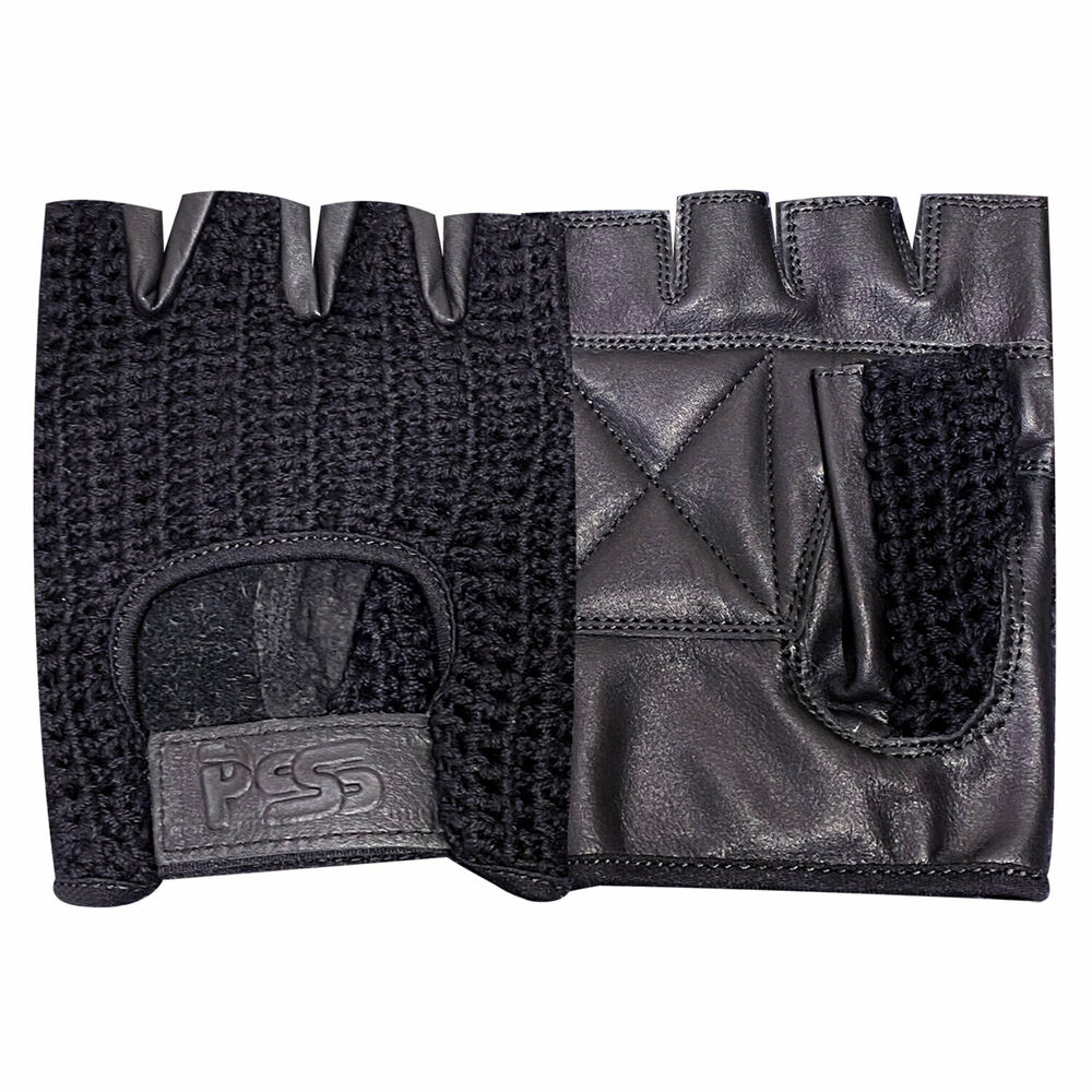 Mesh Weight Lifting Gloves: NEW PADDED MESH AND HALF LEATHER WEIGHT LIFTING TRAINING