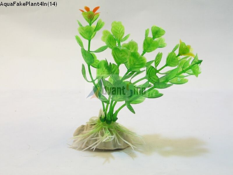 s14 4 inch realistic artificial plants for aquarium fish tank ship from usa ebay. Black Bedroom Furniture Sets. Home Design Ideas