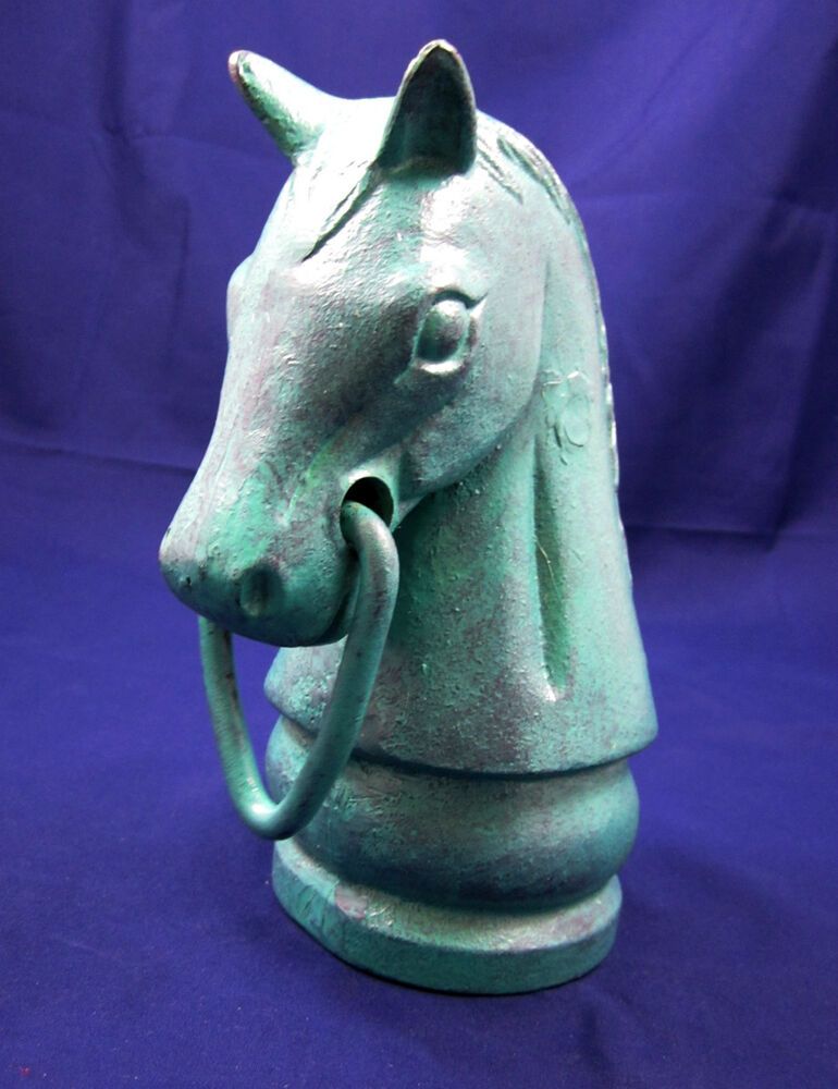 Horse head hitching post 92420 ebay for 92420