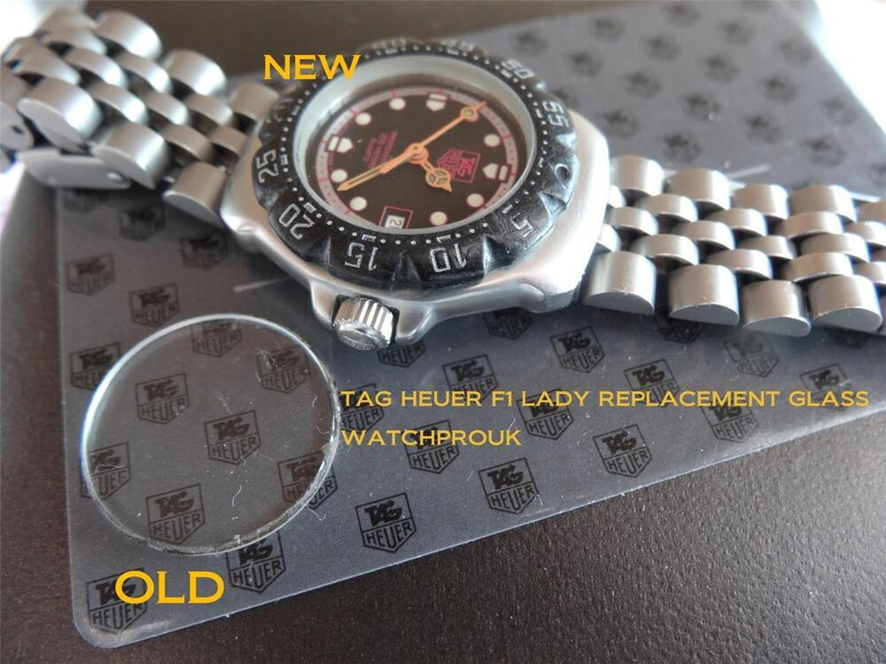 QUALITY REPLACEMENT GLASS FOR YOUR VINTAGE TAG HEUER LADY ...