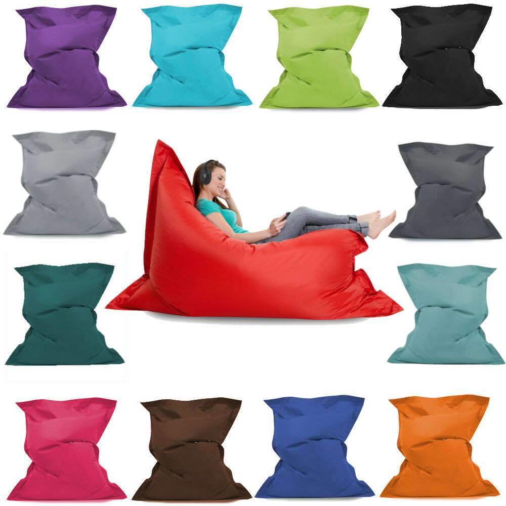 Giant Cushion Outdoor Indoor Furniture Seat Bean Bags