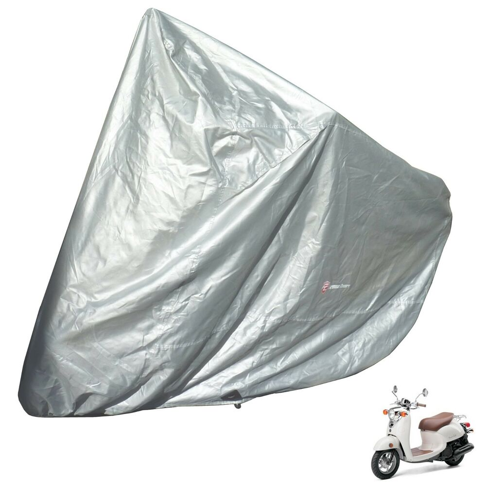 Yamaha vino 125 scooter cover highly water resistant by for Yamaha zuma scooter cover