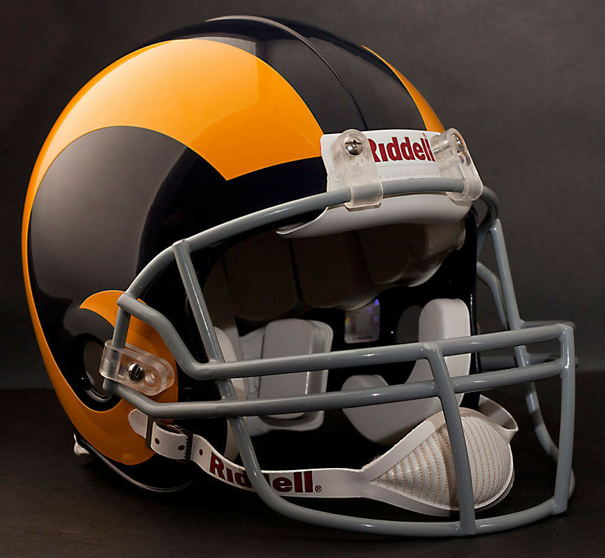 Los Angeles Rams 1950 1963 Riddell Authentic Throwback