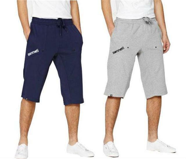 New- Men's Sonneti Hydrated Fleece Jogging Pants Long Shorts ...