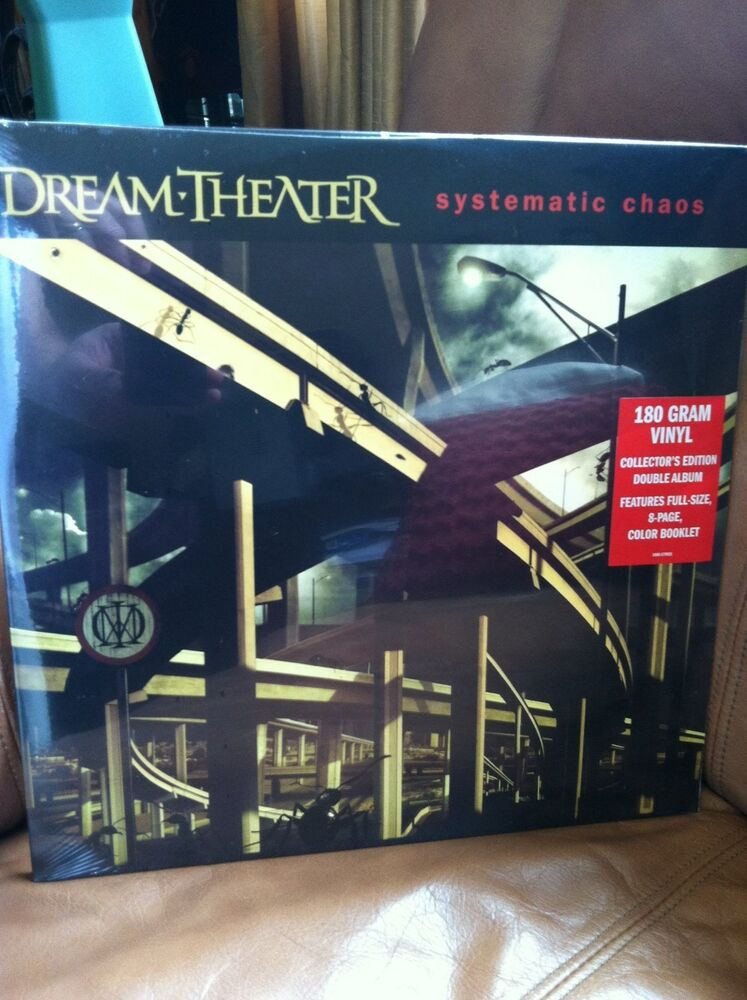 dream theater systematic chaos 2 lp 180 gram sealed ebay. Black Bedroom Furniture Sets. Home Design Ideas