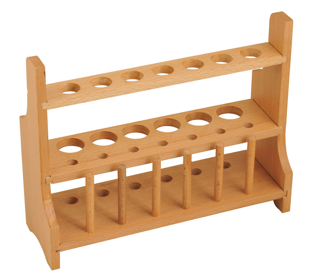 Wood Test Tube Rack, 1...