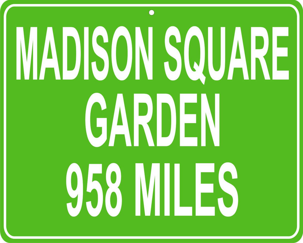 New York Knicks Madison Square Garden In New York City Ny Your House Ebay