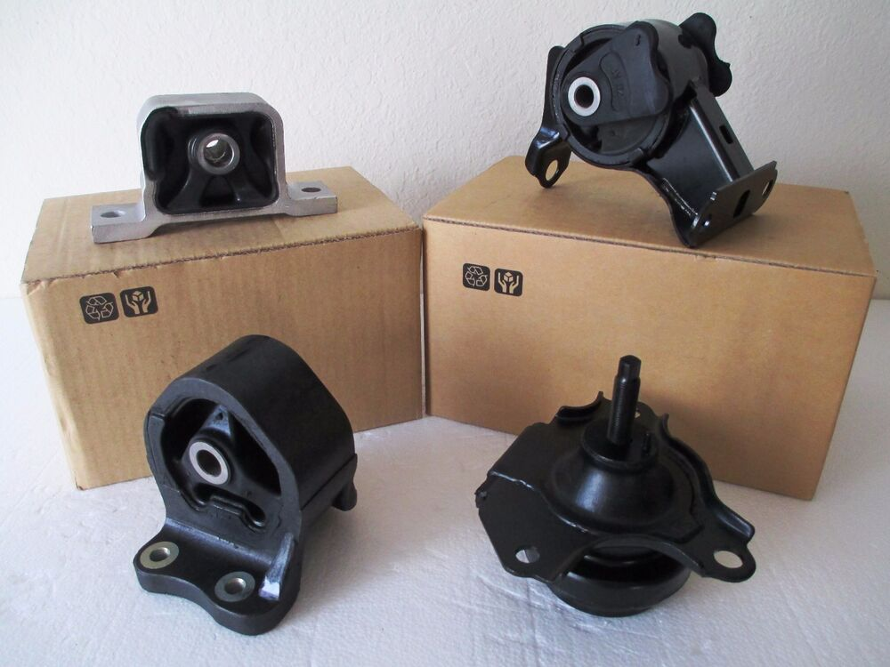 set of engine transmission mounts fits 2002 2006. Black Bedroom Furniture Sets. Home Design Ideas