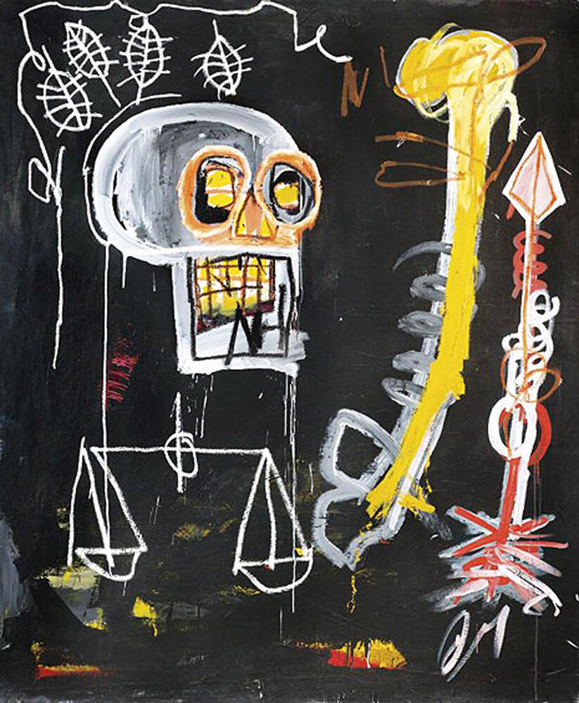 Basquiat Oil Paintings