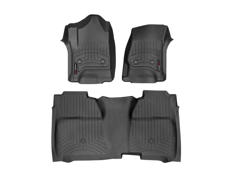 weathertech floorliner for chevy silverado 1500 crew cab