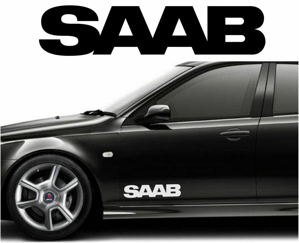 Custom Car Decals: SAAB Car Body Tuning Custom Vinyl Sticker Decal Graphic 2