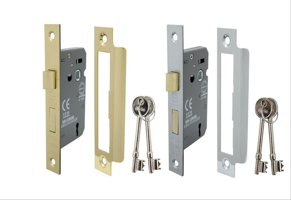 3 lever mortice internal sash door lock 2 5 inch brass for 1 2 lock the door