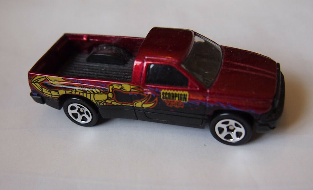 Monster Truck Dodge Ram >> HOT WHEELS DODGE RAM 1500 SCORPION STING | eBay