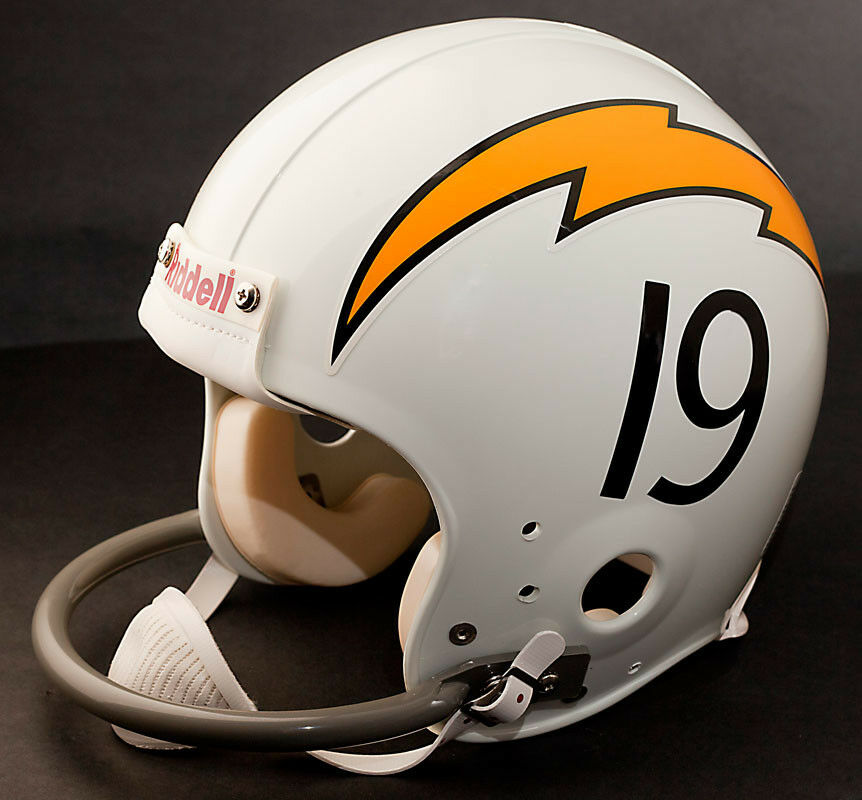 San Diego Chargers Helmets: LANCE ALWORTH Edition SAN DIEGO CHARGERS Riddell REPLICA