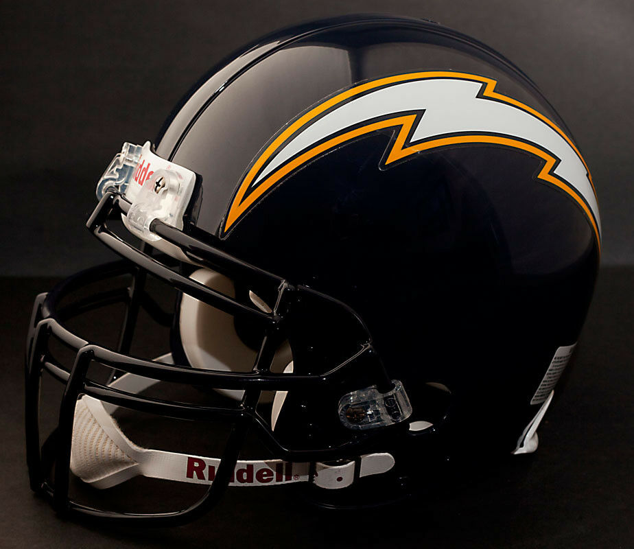 San Diego Chargers Helmets: LADAINIAN TOMLINSON Edition SAN DIEGO CHARGERS Riddell