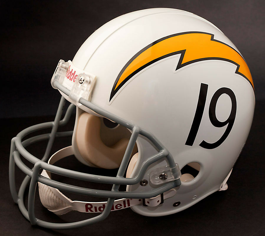 San Diego Chargers Facts: SAN DIEGO CHARGERS 1961-1973 Riddell NFL Full Size REPLICA
