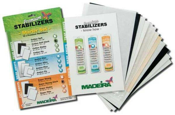 machine embroidery stabilizer