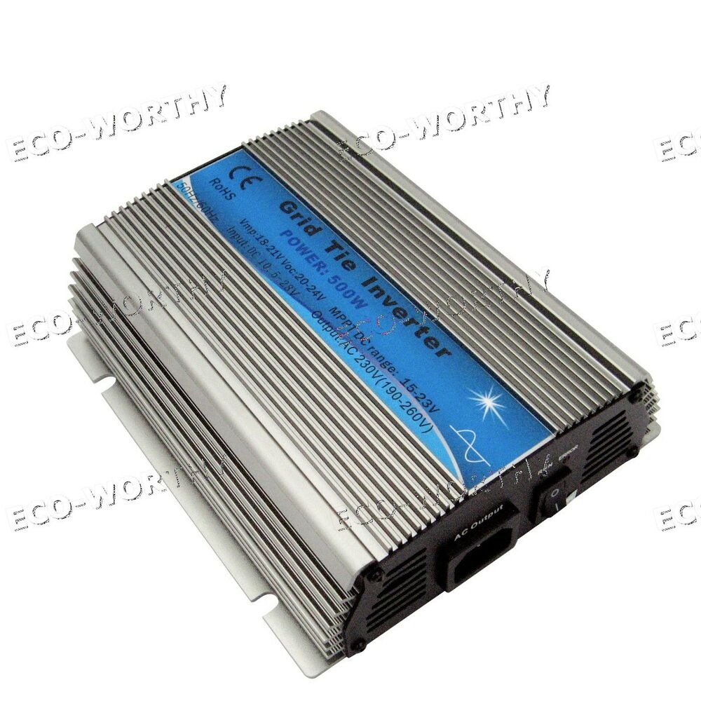 300w 500w 1000w Micro Grid Tie Inverter 220v Ac For Solar