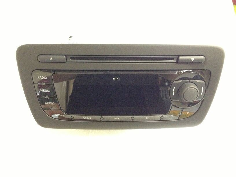 seat ibiza 6j st original autoradio mp3 ebay. Black Bedroom Furniture Sets. Home Design Ideas