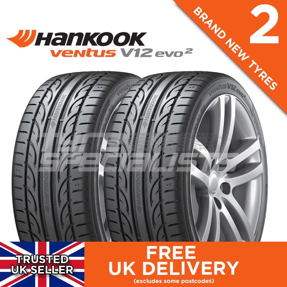 2x new 225 40 18 hankook ventus v12 evo 2 k120 92y xl tyre. Black Bedroom Furniture Sets. Home Design Ideas