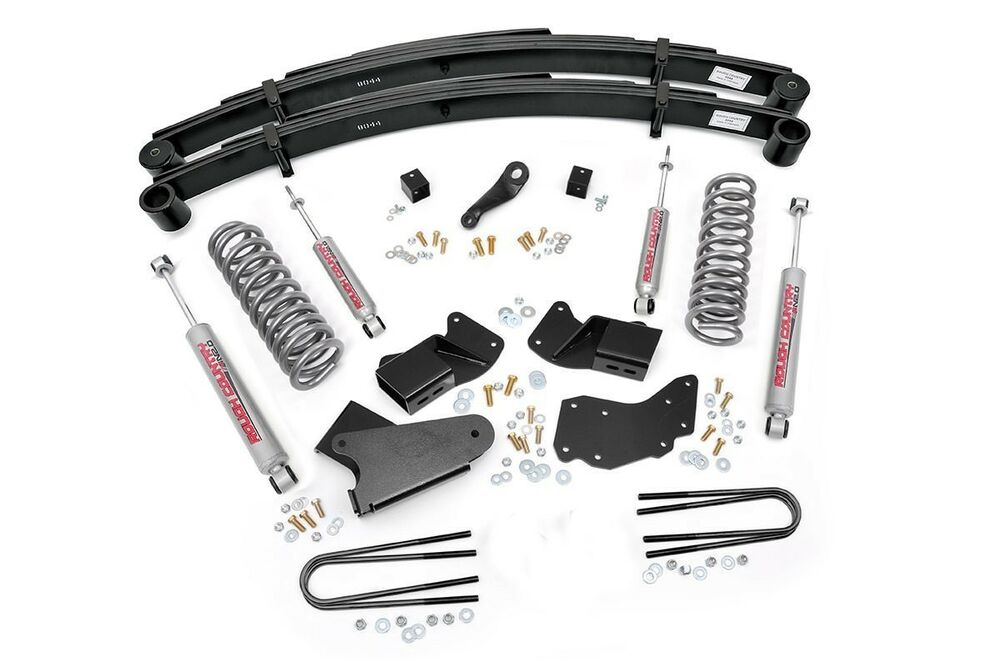 ford explorer 4 lift kit w new leaf springs 90 94 4wd ebay. Cars Review. Best American Auto & Cars Review