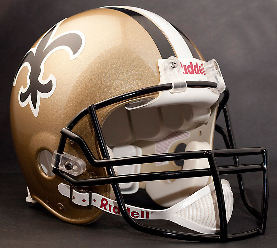 NEW ORLEANS SAINTS 2011 Riddell AUTHENTIC Throwback ...