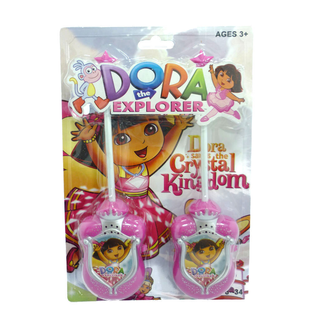Brand New Toys : Walkie talkies for kids dora the explorer brand new toys