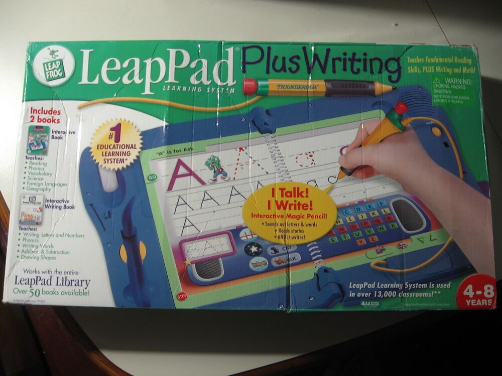 leappad plus writing and microphone