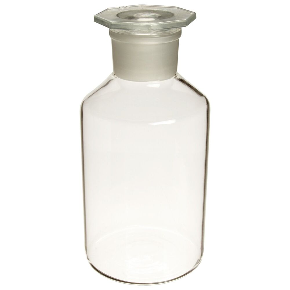 Glass Lab Reagent Bottle Narrow Mouth 2500 Ml With Ground