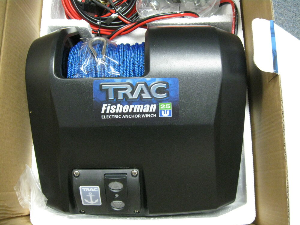 trac winch parts & accessories ebay River Anchor Winch  Windlass Anchor Winch Trac Powerwinch Electric Boat Anchor