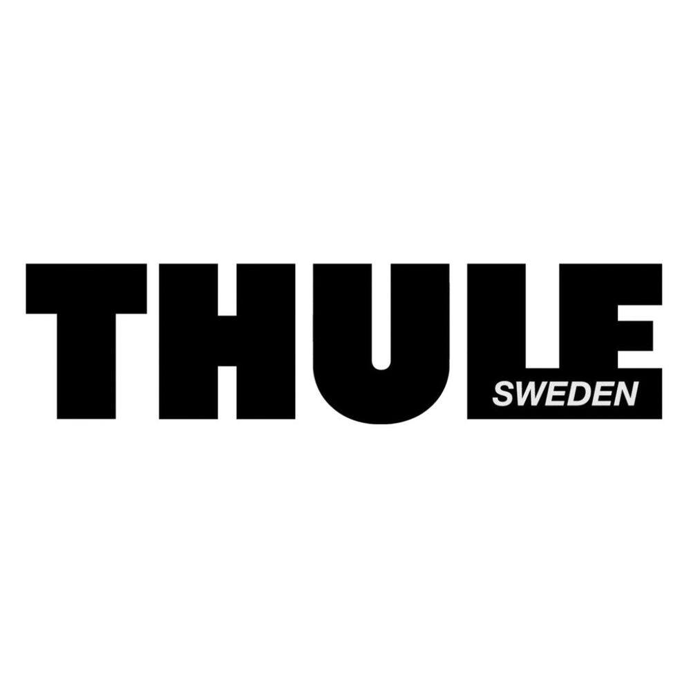 Thule Roof Box Logo Raised Soft Feel Graphic Decal Sticker
