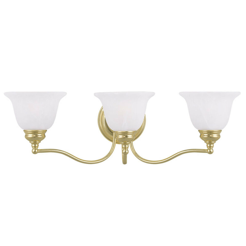 cheap bathroom vanity lights essex 3 l livex polished brass bathroom vanity lighting 17700