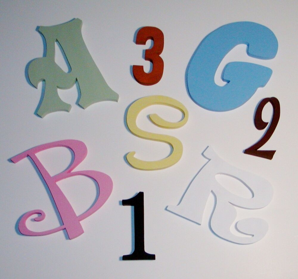 12 inch painted wood letters wooden letters wall letters also custom sizes ebay