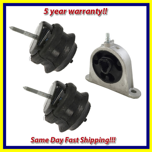 04 06 chrysler pacifica 3 5l 3 8l engine motor mount set for Chrysler pacifica motor mounts
