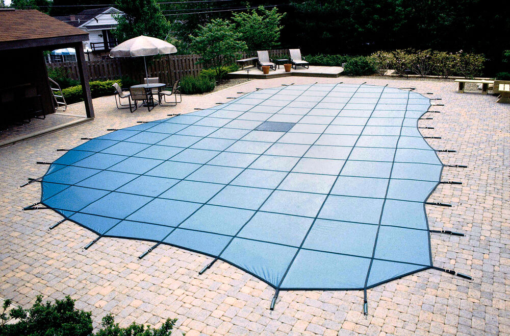 Custom safety cover quote for in and above ground swimming - Custom above ground pool ...