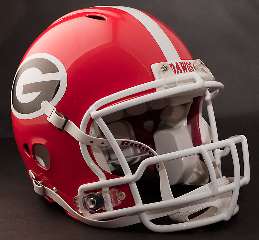 georgia bulldog helmets matt stafford georgia bulldogs revolution football helmet 6101
