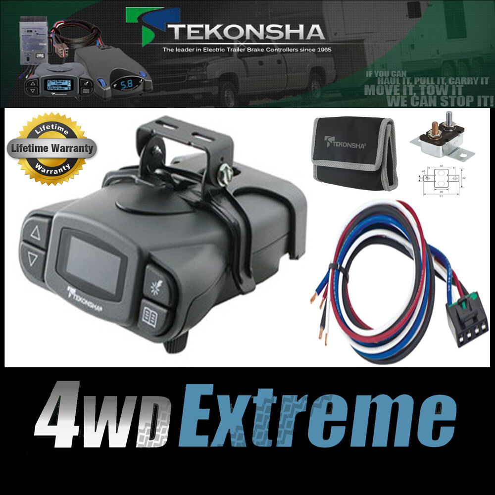 tekonsha p3 prodigy electric trailer brake controller 4x4 towing ebrh p2 iq ebay