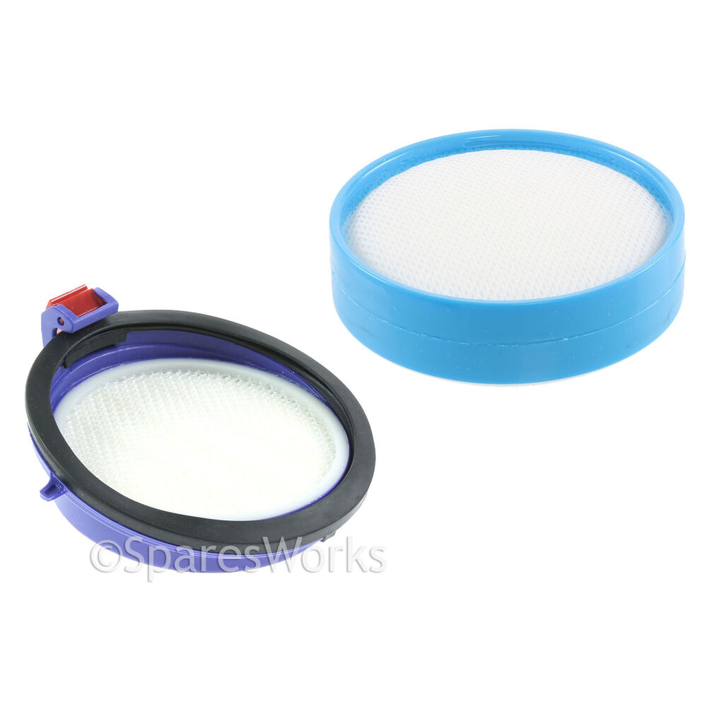 Washable Pre Post Motor Allergy Hepa Filter Kit For