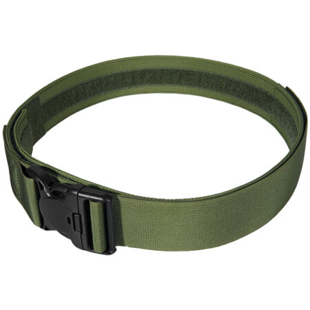 img-FLYYE TACTICAL DUTY BELT with SECURITY BUCKLE AIRSOFT POLICE GUARD OLIVE DRAB OD