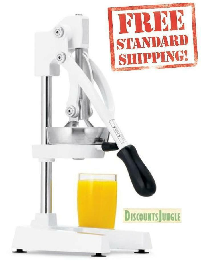 New Heavy Duty Commercial Manual Citrus Juicer Fruit Juice Extractor ...
