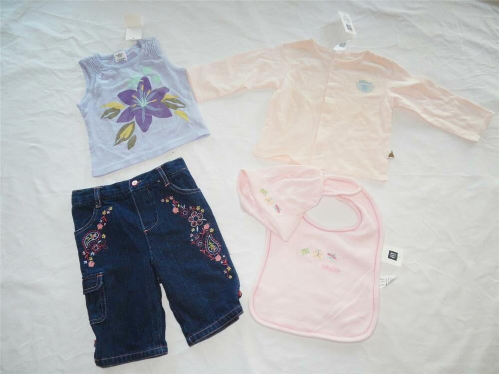 Lot Of New Baby Girl S Clothing Size 6 12 Months Nwt Ebay