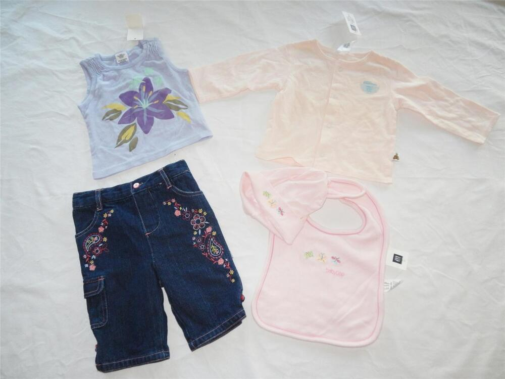 Lot of New Baby Girl s Clothing Size 6 12 months NWT