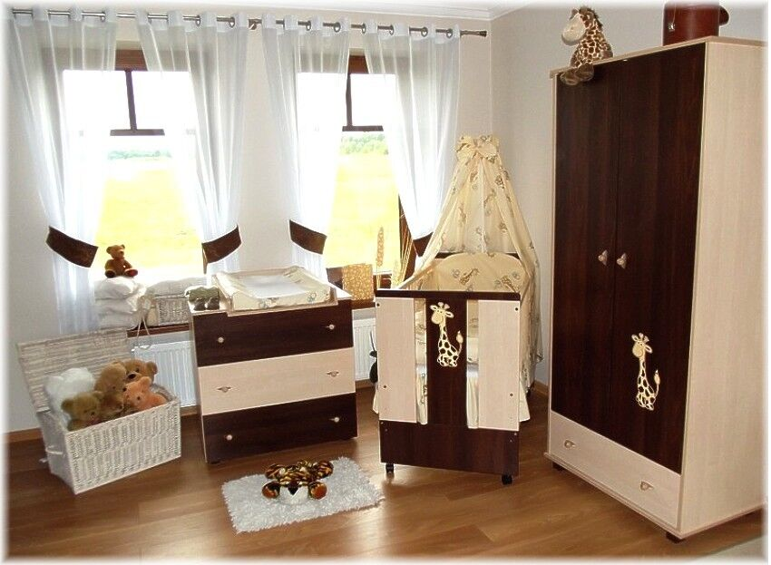 paula braun babybett kinderbett wickelkommode schrank. Black Bedroom Furniture Sets. Home Design Ideas