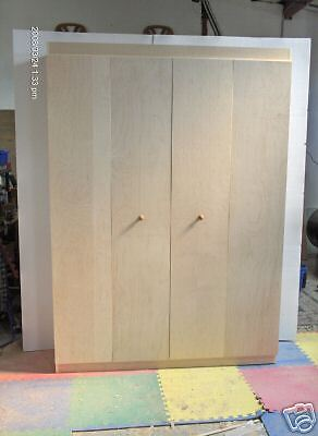 Murphy Bed Cabinet Queen Cabinet Only Do it Yourself Kit | eBay