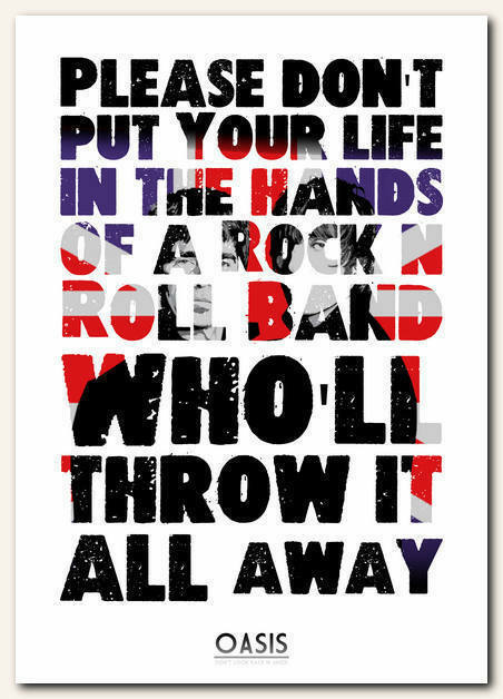 DONT LOOK BACK IN ANGER CHORDS by Oasis @