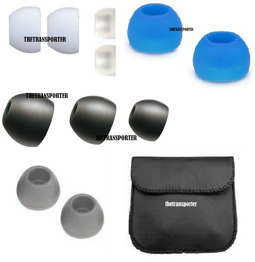 replacement silicone in ear earphone headphone earbuds bud