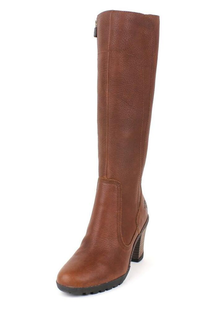 timberland stratham heights boot brown knee high